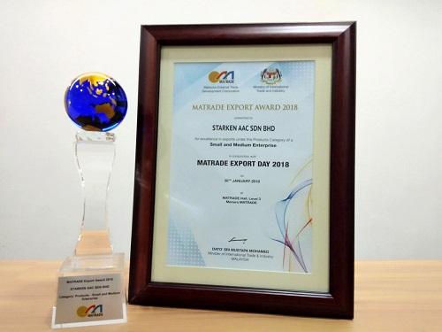 MATRADE Export Award 2018 A